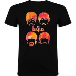 Camiseta de niño Beatles caras