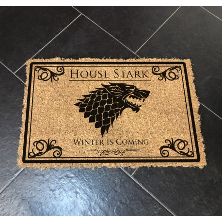 Felpudo House Stark Juego de tronos