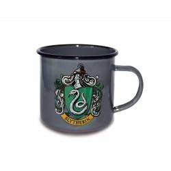 Harry Potter Taza Enamel Slytherin Logo