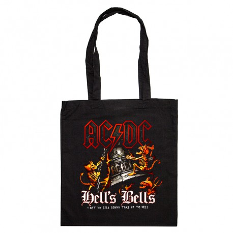 Tote Bag AC/DC Hell's bells