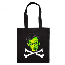 Tote Bag Johnny Cash zombie