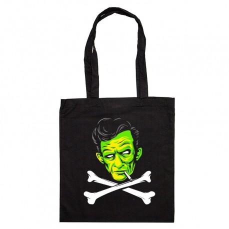 Tote Bag Johnny Cash zombie