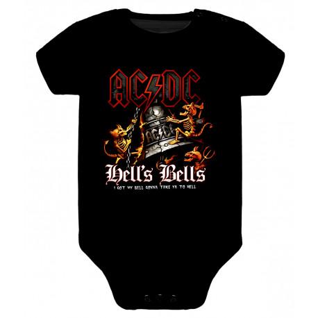 Body para bebé ACDC Hell's Bells