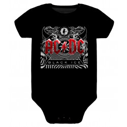 Body para bebé ACDC black ice