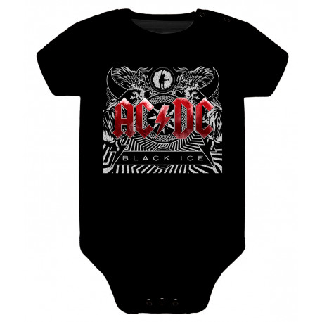 Body para bebé ACDC black ice