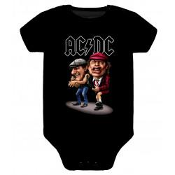 Body para bebé ACDC dibujo