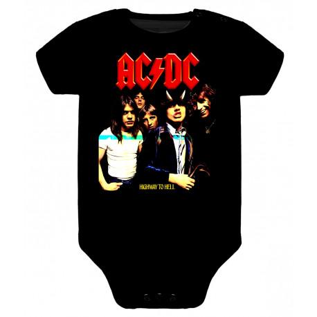 Body para bebé ACDC highway