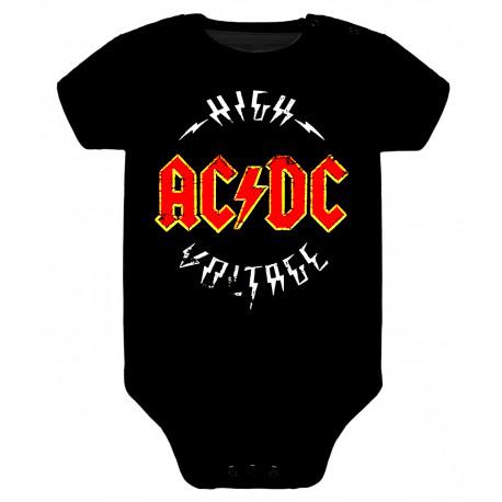 Body para bebé ACDC high voltage