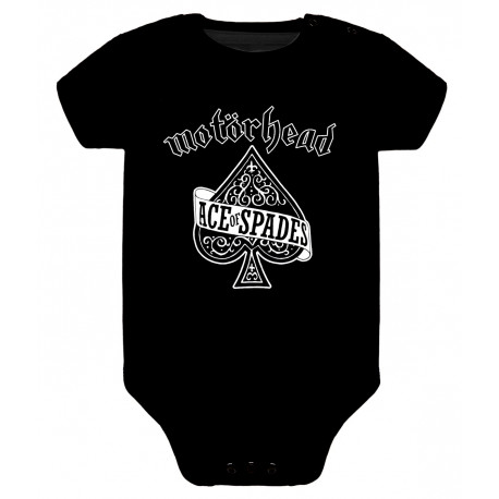 Body para bebé motorhead ace of spades