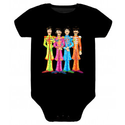 Body para bebé Beatles Caricatura