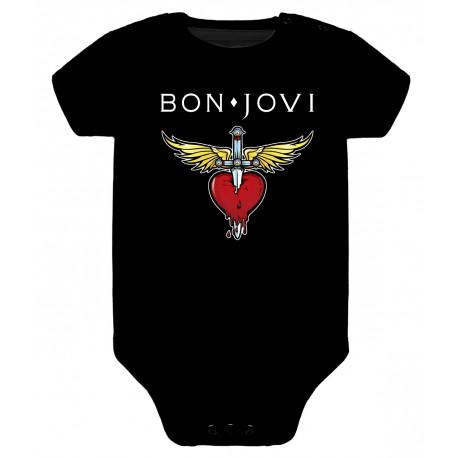 Body para bebé Bon Jovi