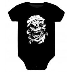 Body para bebé Iron Maiden Eddie