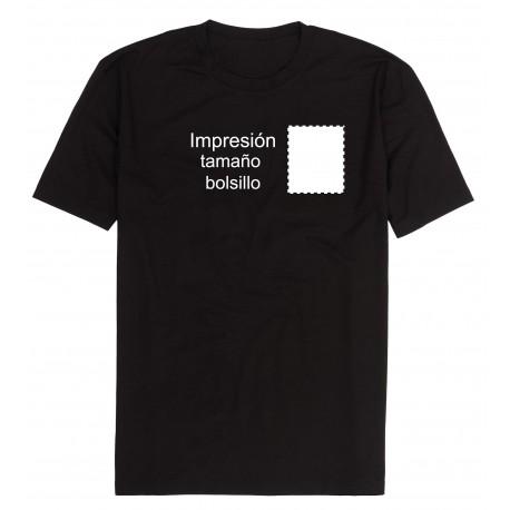 Camiseta personalizada tamaño escudo