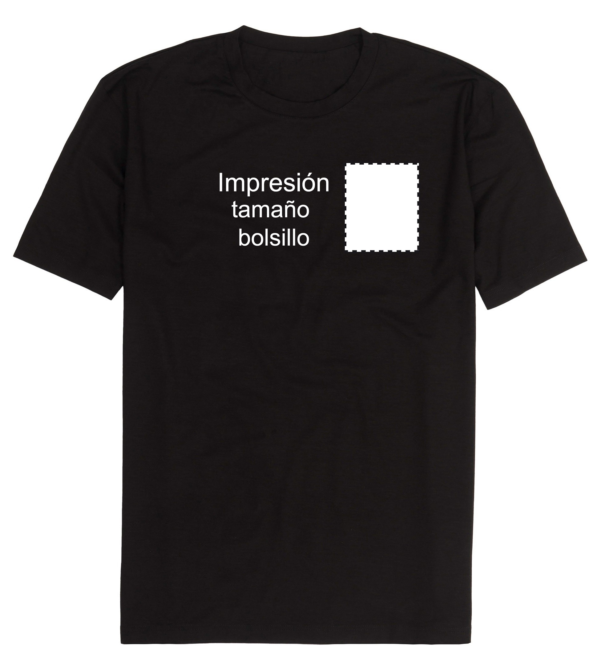 Camiseta personalizada tamaño escudo 62f8817e352d2