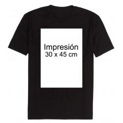 Camiseta personalizada tamaño 30x45 cm