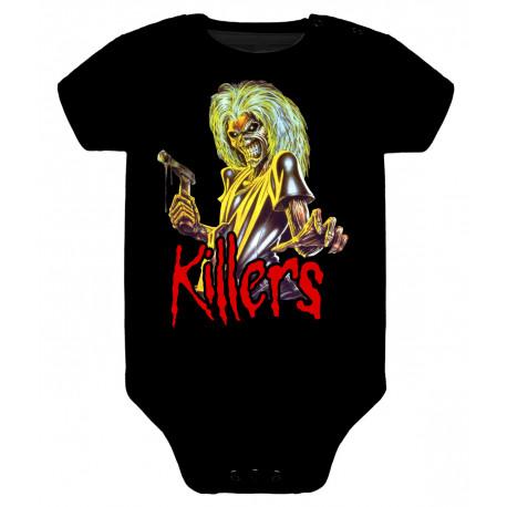 Body para bebé Iron Maiden Killers