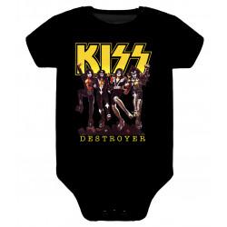 Body para bebé Kiss Destroyer