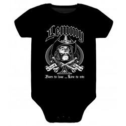 Body para bebé Motorhead Lemmy