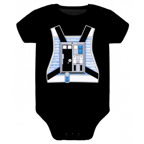 Body para bebé piloto rebelde