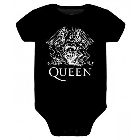 Body para bebé Queen Logo