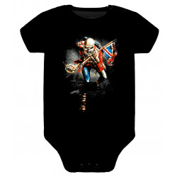 Body para bebé Iron Maiden The Trooper