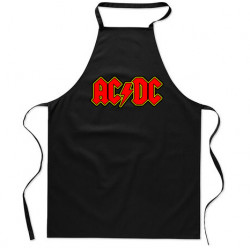 Delantal cocina ACDC logo
