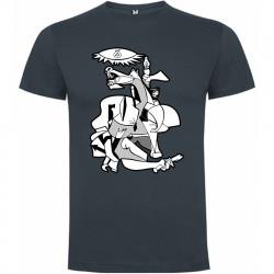 Camiseta Guernica Picasso ébano