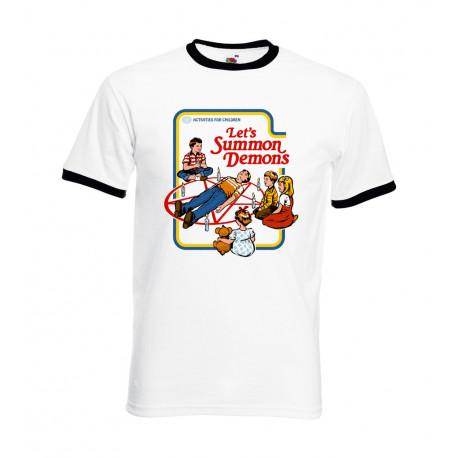 Camiseta Let's Summon Demons Blanca