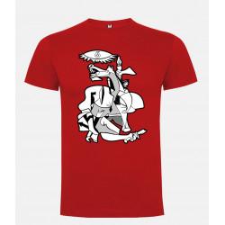Camiseta Guernica Picasso Rojo