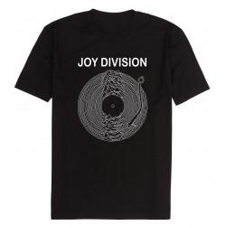 camiseta joy division negra