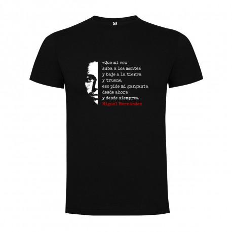 Camiseta Miguel Hernández