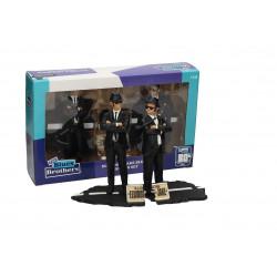 Blues Brothers Pack de 2 Estatuas Movie Icons Jake & Elwood 18 cm