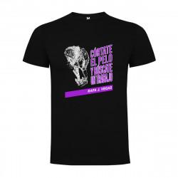 Camiseta Córtate el pelo y búscate un trabajo Rafa J. Vegas Chico