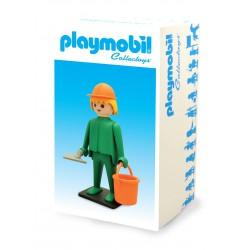Playmobil Figura Vintage Collection El Obrero de la Construcción 21 cm