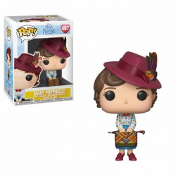 Mary Poppins 2018 POP! Disney Vinyl Figura Mary with Bag