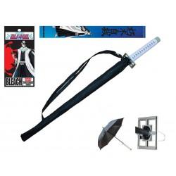 Bleach paraguas con mango de espada Byakuya Kuchiki Senbonzakura Paraguas Bleach