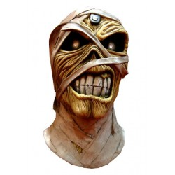 Iron Maiden Máscara de látex Powerslave Mummy