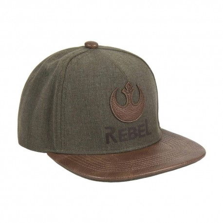 Star Wars Gorra Snapback Rebel Patch Logo