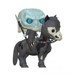 Juego de Tronos POP! Rides Vinyl Figura Caminante Blanco a caballo 15 cm Figuras POP