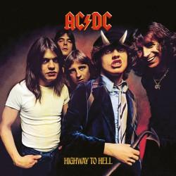 AC/DC Póster de tela Enmarcado Highway To Hell
