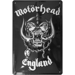 Motörhead Placa de Chapa England