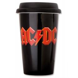 AC/DC vaso de Viaje Logo