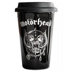 Motorhead Taza de Viaje Logo