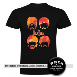 Camiseta Beatles Caras