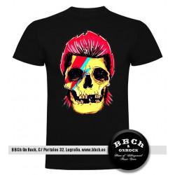 Camiseta Bowie Skull