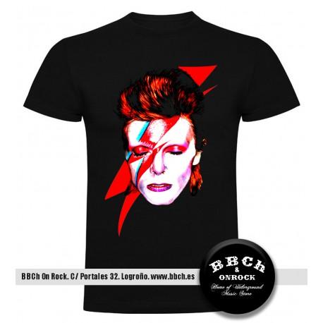 Camiseta Bowie Cara Rayo