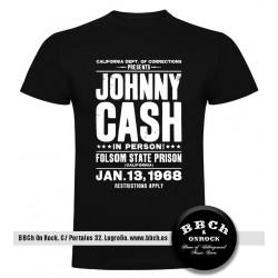 Camiseta Johnny Cash Folson