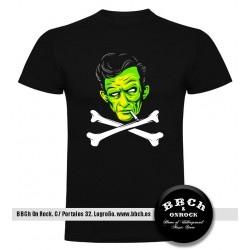 Camiseta Johnny Cash Zombie