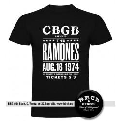 Camiseta Ramones CBGB