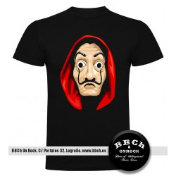 Camiseta La casa de papel Dalí